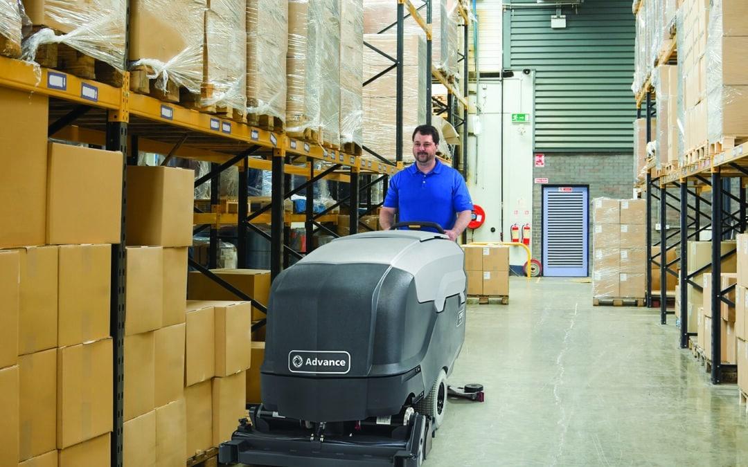 Industrial Floor Scrubbers: Squeegee Care